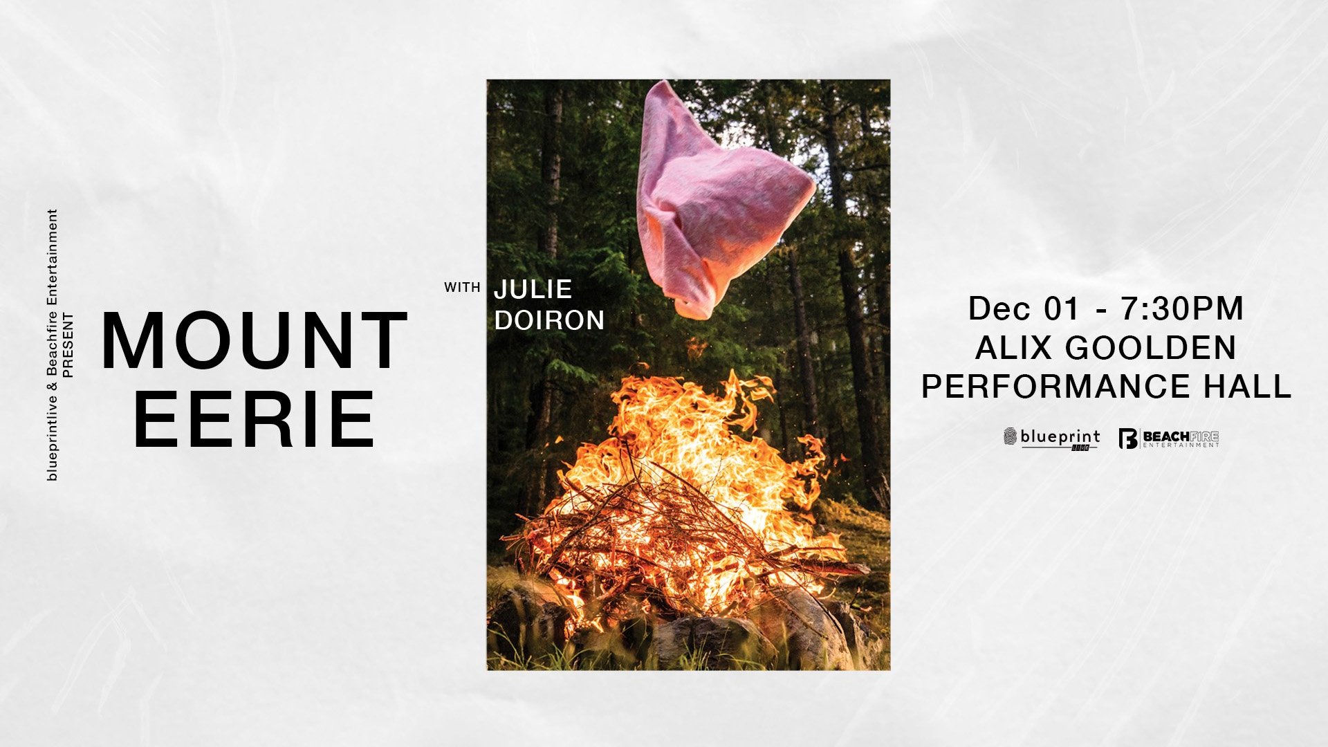 Mount Eerie December 1, 2019 | Alix Goolden Hall