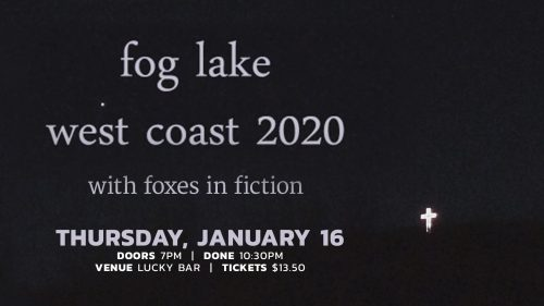 Fog Lake January 16, 2020 | Lucky Bar