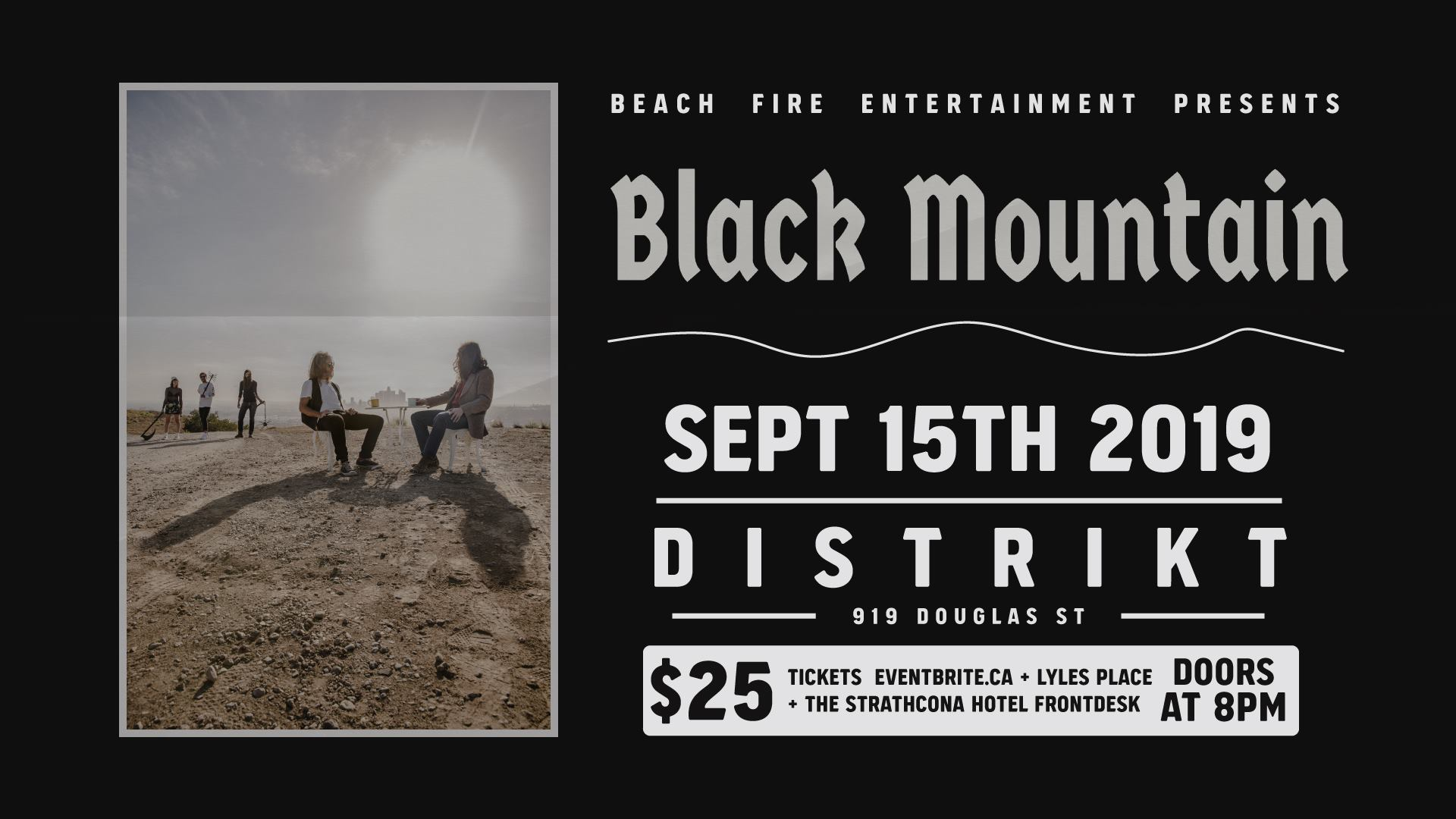 Black Mountain September 15, 2019 | Distrikt