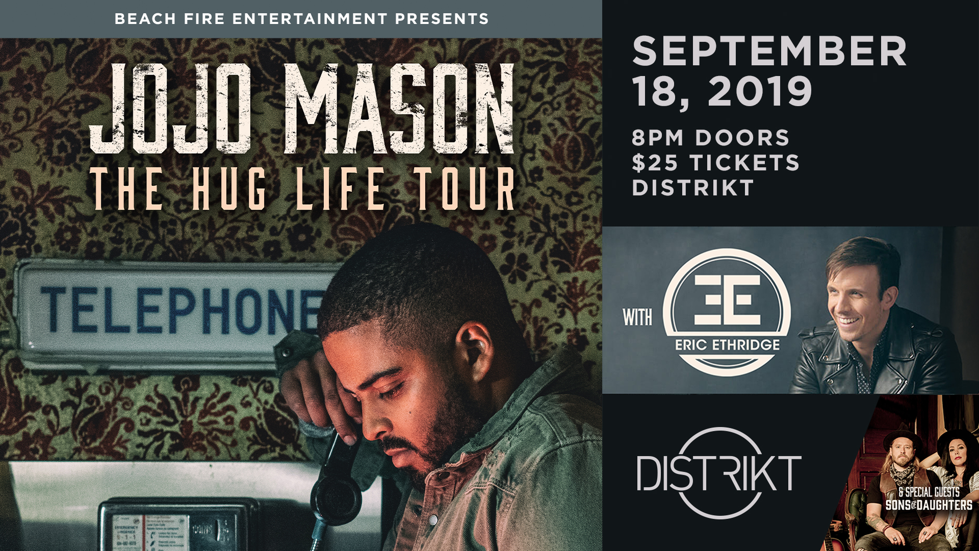Jojo Mason September 18, 2019 | Distrikt