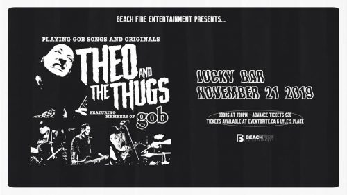 Theo and the Thugs November 21, 2019 | Lucky Bar