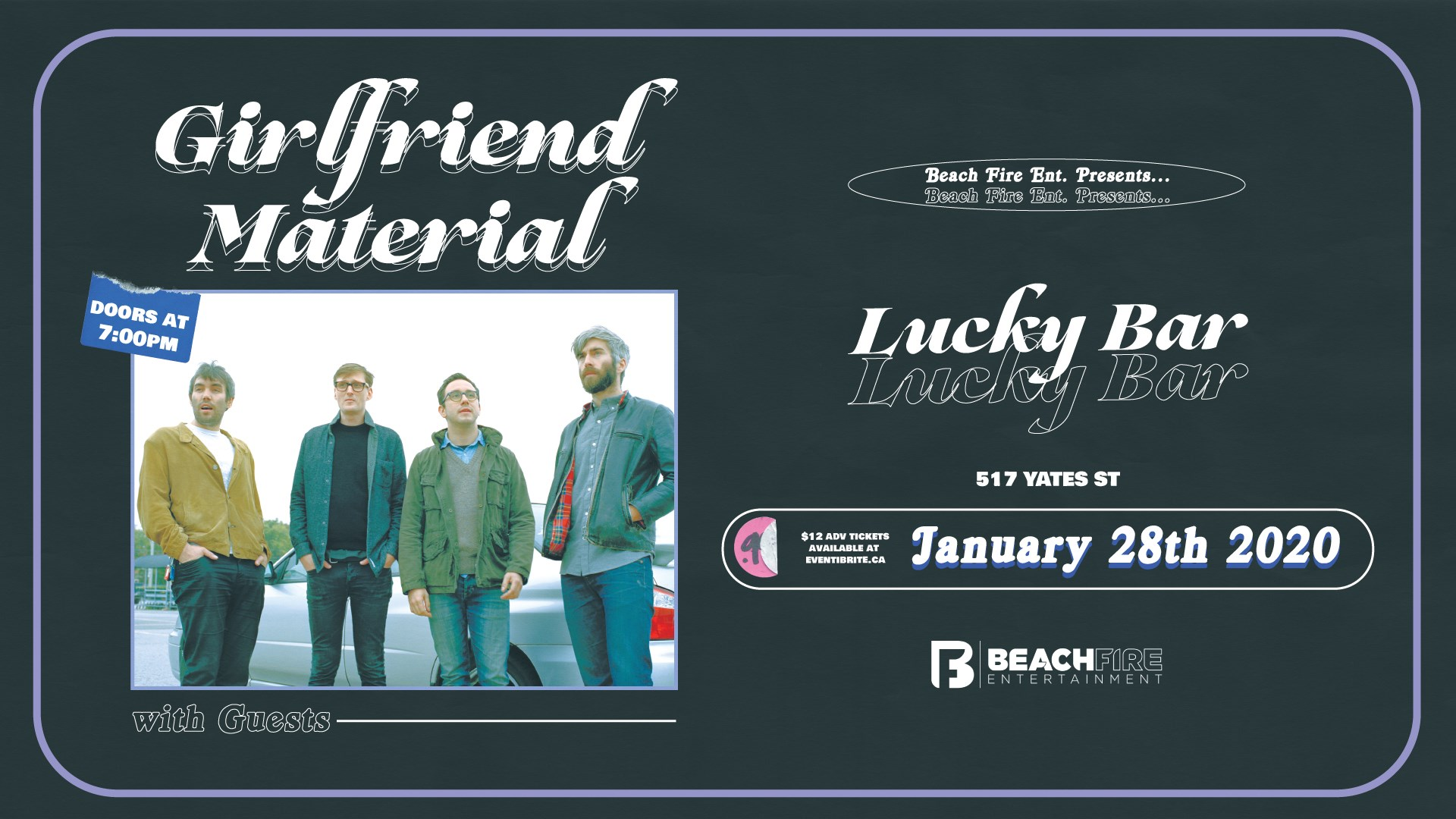 Girlfriend Material January 28, 2020 | Lucky Bar