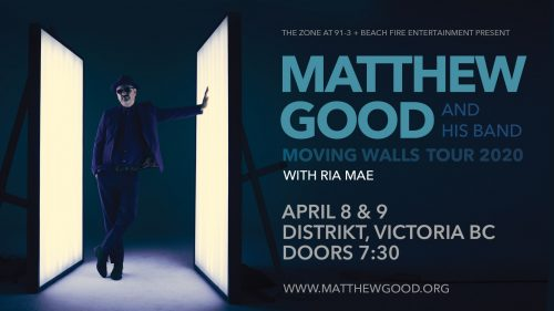 Matthew Good April 9, 2020 | Distrikt