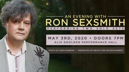 Ron Sexsmith May 3, 2020 | Alix Goolden Hall